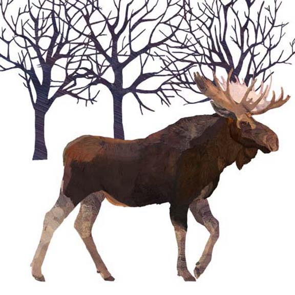Moose Wall Art - Two Can Art Store