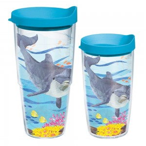 dolphin tumblers