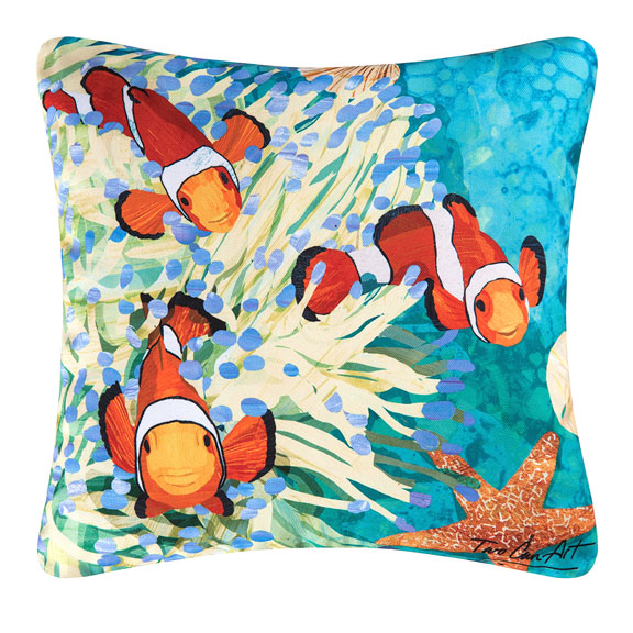 clown fish pillow