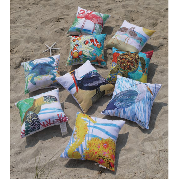 Two Can Art Pillows C&F