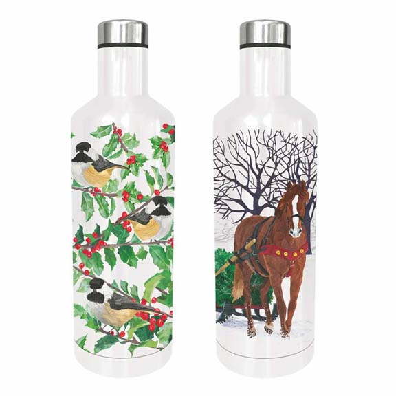 holiday waterbottles