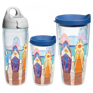 surf boards tumblers
