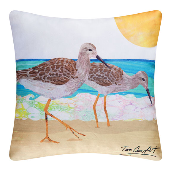 sandpiper pillows
