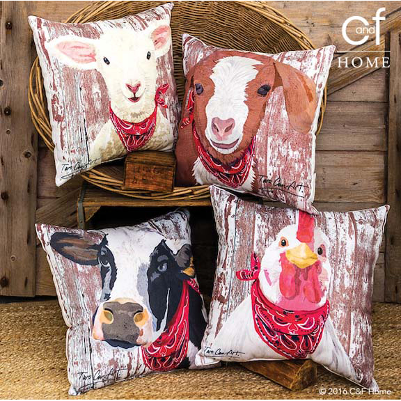 TwoCan_Barnyard pillows