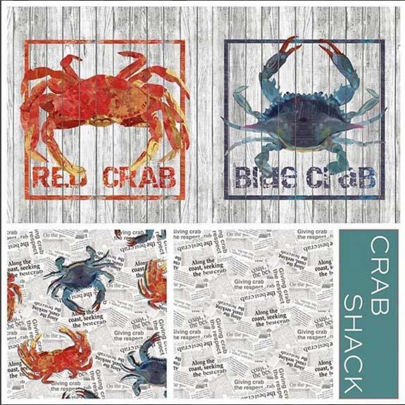 crab schack fabric