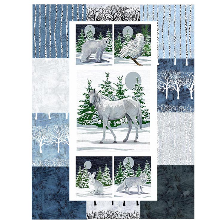 winter moons fabric wb
